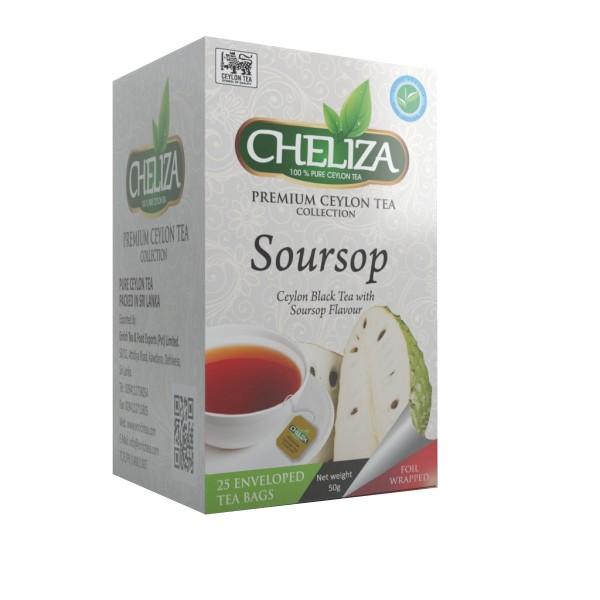 Tè Nero Ceylon con Sapore di Graviola (Guanabana)