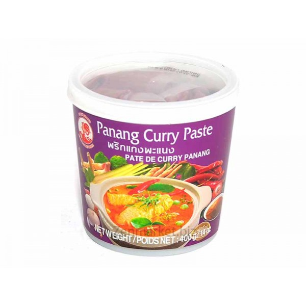 Curry Panang in Pasta