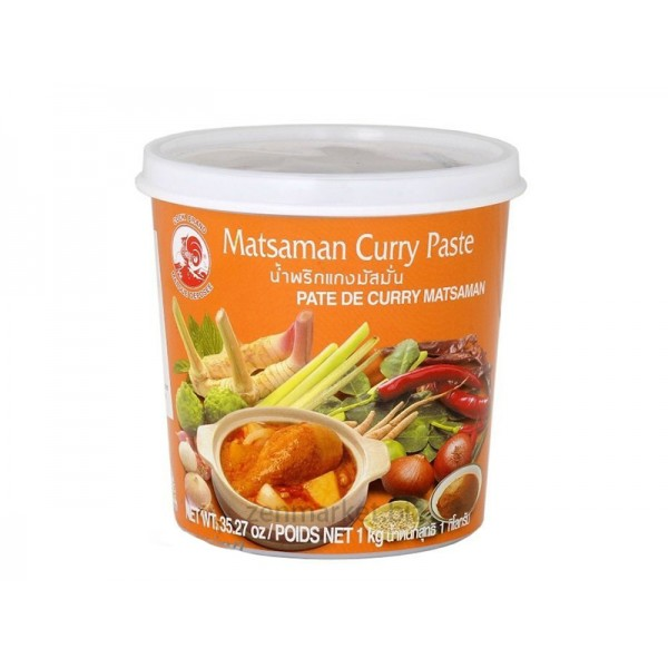 Curry Mat Saman in Pasta