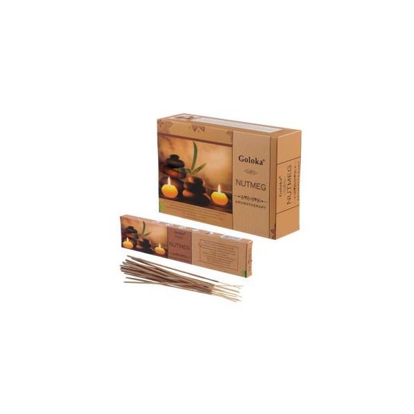 Bastoncini D'incenso NOCE MOSCATA - Aromaterapia  12pz
