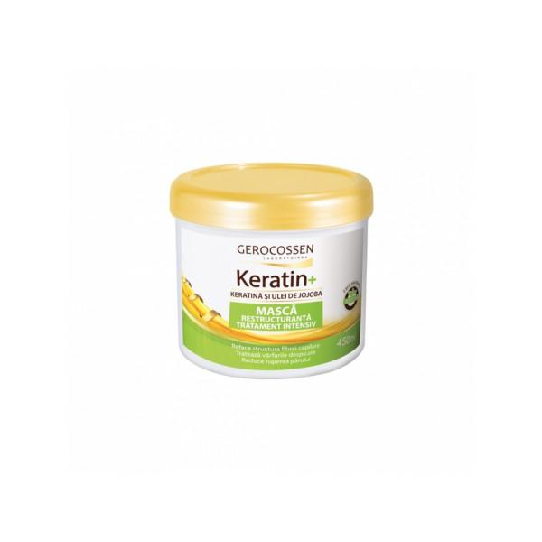 Maschera Trattamento Intensivo Con Keratina e Olio di Jojoba 450 ml