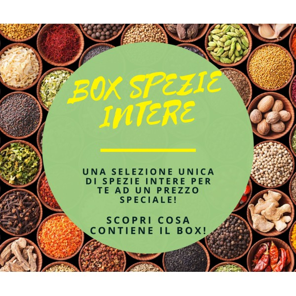 Box Spezie Intere - 37 Varietà