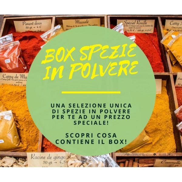Box Spezie in Polvere - 30 Varietà
