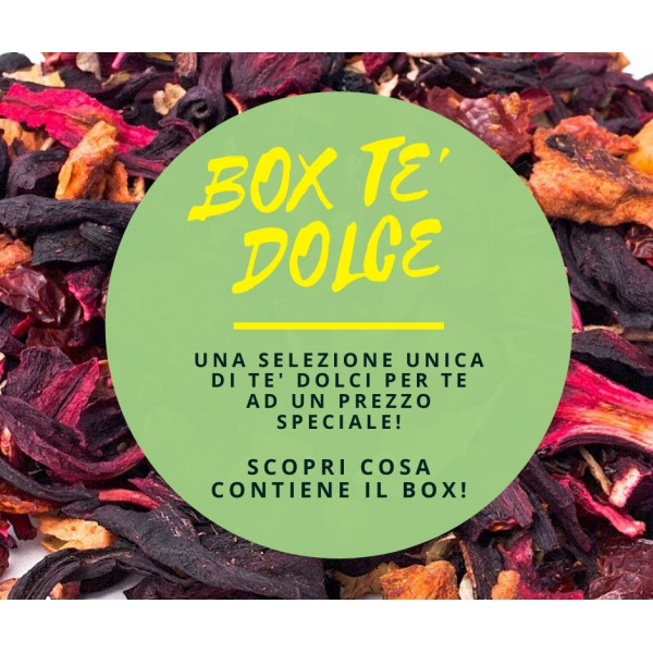 Box Tè Dolce - 33 Varietà