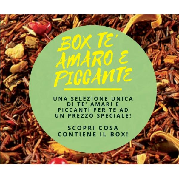 Box Tè Amaro e Piccante - 28 Varietà