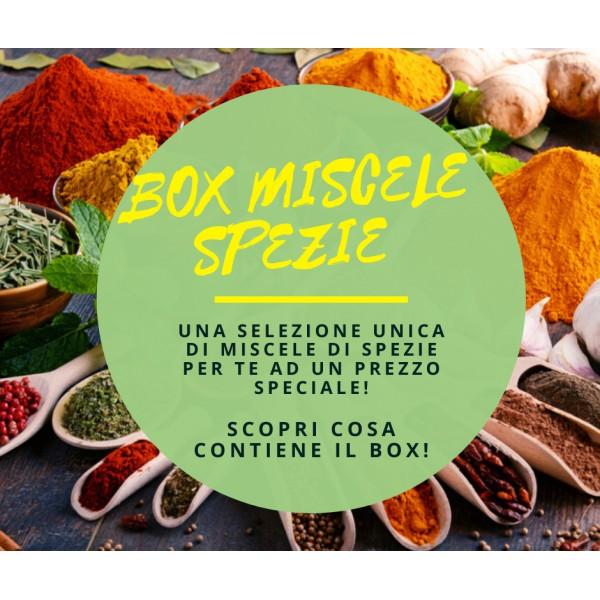 Box Miscele Spezie - 21 Varietà