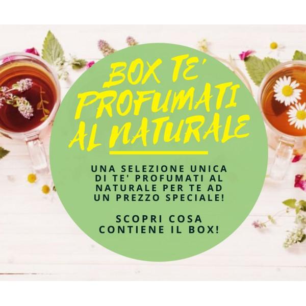 Box Tè Profumati al Naturale - 30 Varietà