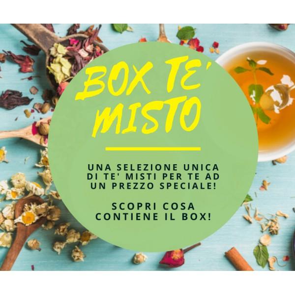 Box Tè Misto - 30 Varietà (Botanico,Ayurveda,Rooibos Rosso)