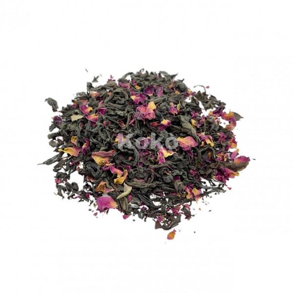 Tè Nero ai Petali di Rosa - Sapore Forte,Deciso,Dolce e Aromatico
