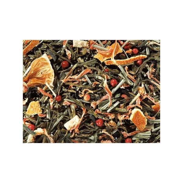 Tè Verde Ananas -Fragola e Petali di Girasole