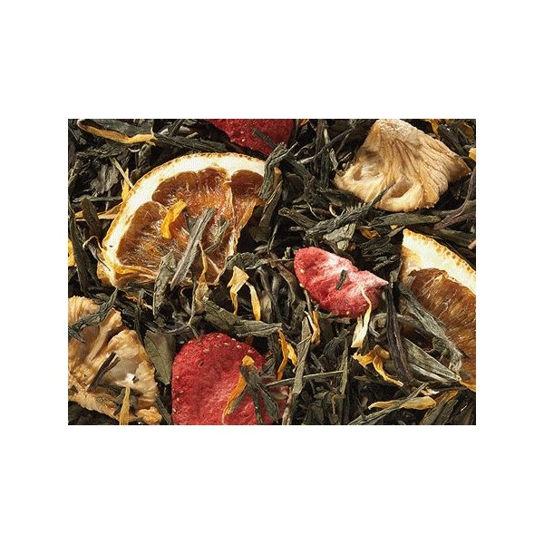 Tè Verde Fragola e Ananas