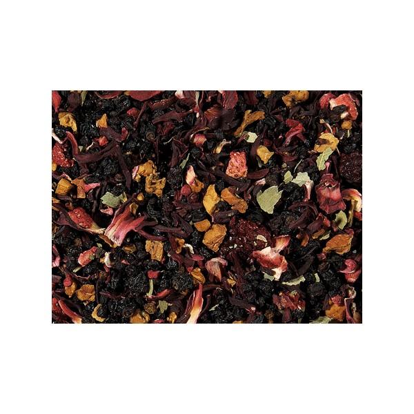 Tè Nero alla Fragola