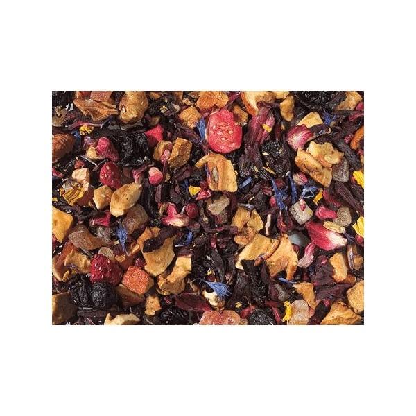 Tè Nero Fragola e Ananas